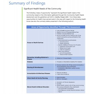 summary of findings health needs assessment_Page_1